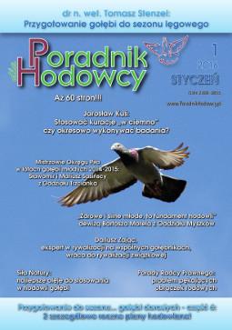 Okładka Poradnika Hodowcy numer styczeń 2016