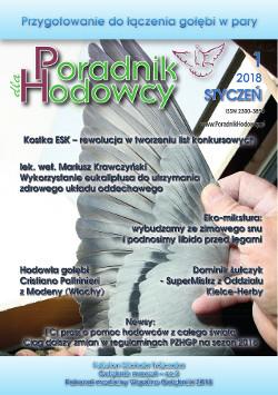 Okładka Poradnika Hodowcy numer styczeń 2018