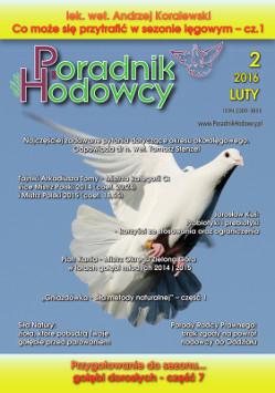 Okładka Poradnika Hodowcy numer luty 2016