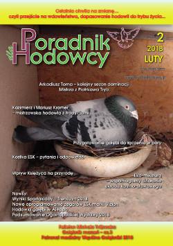 Okładka Poradnika Hodowcy numer luty 2018