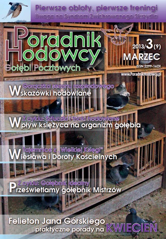 Okładka Poradnika Hodowcy numer 9 marzec 2013