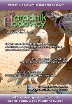 Okładka Poradnika Hodowcy numer marzec 2015