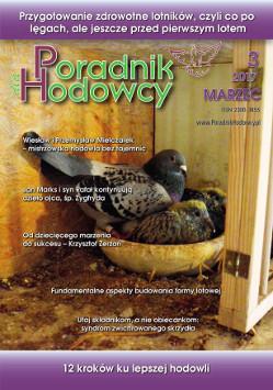 Okładka Poradnika Hodowcy numer marze 2017