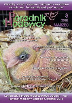 Okładka Poradnika Hodowcy numer marzec 2018