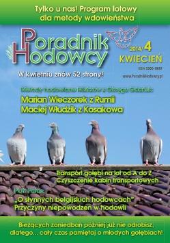 Okładka Poradnika Hodowcy numer kwiecień 2014