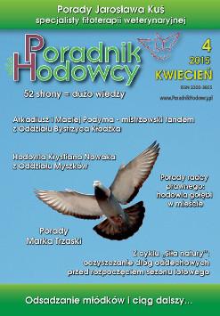 Okładka Poradnika Hodowcy numer kwiecień 2015