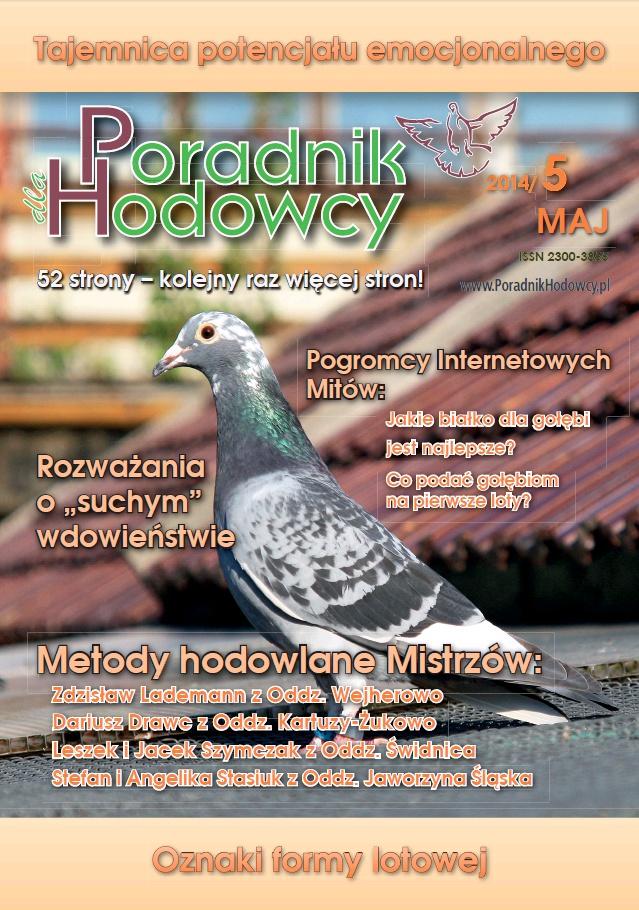 Okładka Poradnika Hodowcy numer maj 2014