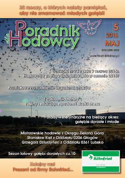 Okładka Poradnika Hodowcy numer maj 2016