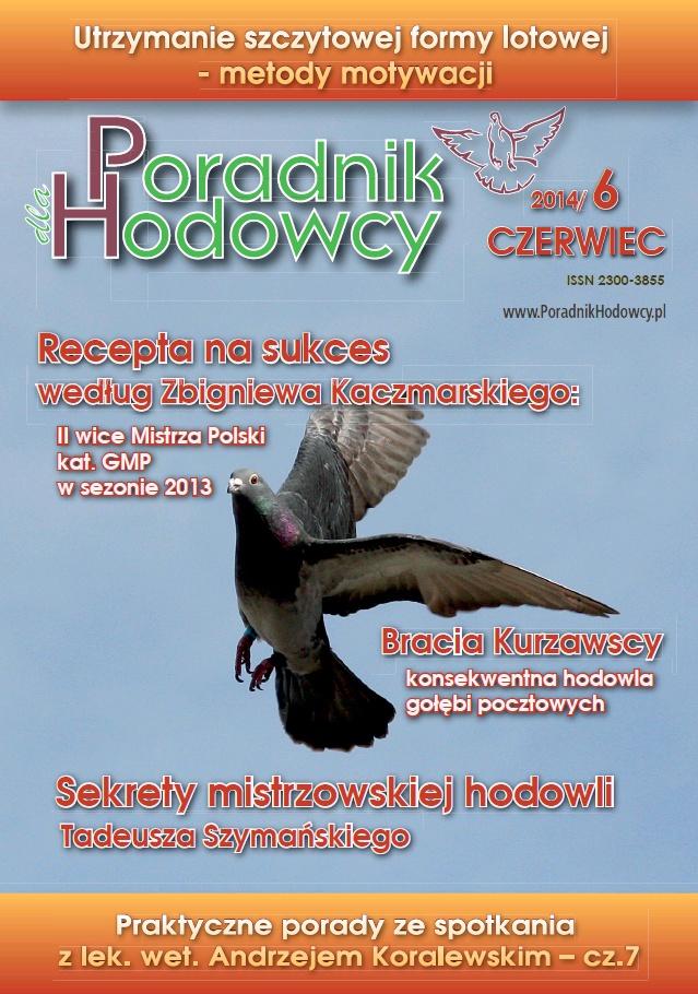 Okładka Poradnika Hodowcy numer czerwiec 2014
