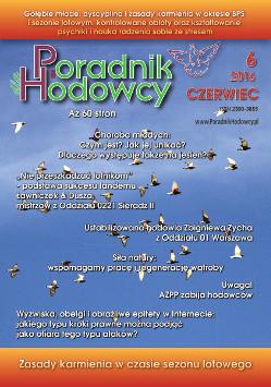 Okładka Poradnika Hodowcy numer czerwiec 2016