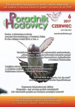 Okładka Poradnika Hodowcy numer czerwiec 2017