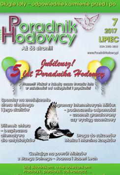 Okładka Poradnika Hodowcy numer lipiec 2017