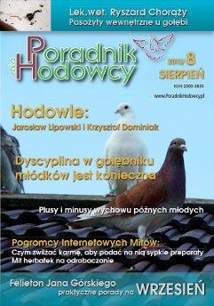 Okładka Poradnika Hodowcy numer 13 lipiec 2013