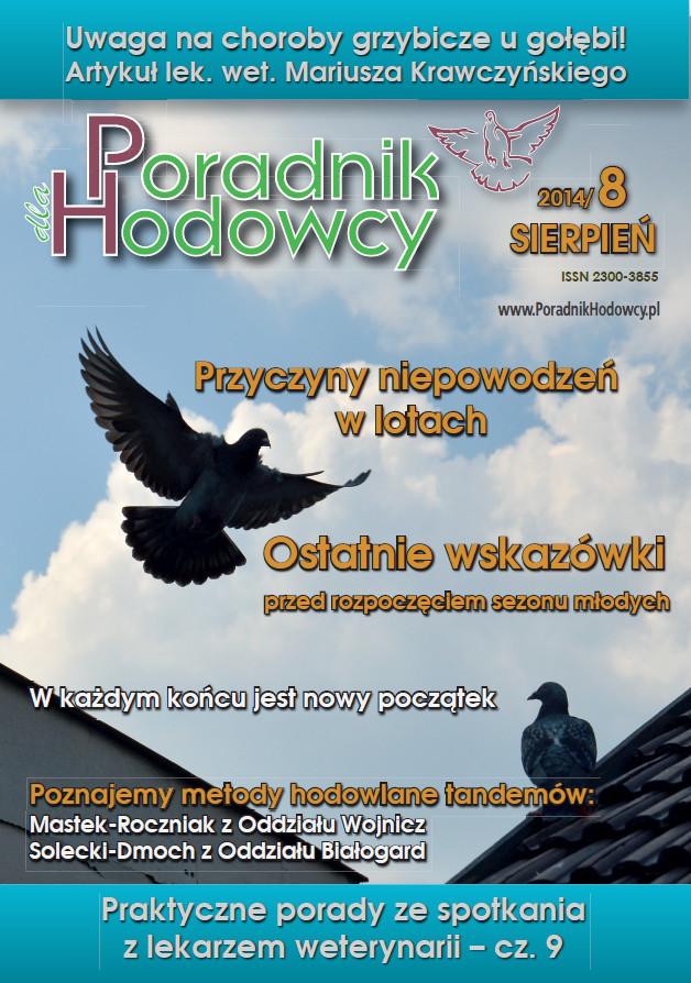 Okładka Poradnika Hodowcy numer sierpień 2014