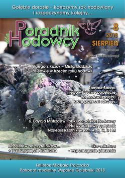 Okładka Poradnika Hodowcy numer sierpień 2018