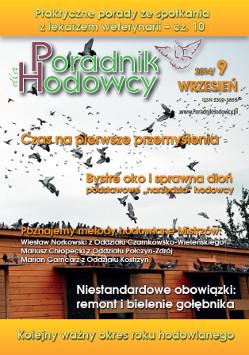 Okładka Poradnika Hodowcy numer wrzesień 2014