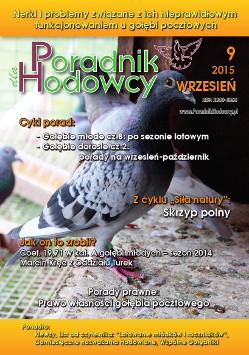 Okładka Poradnika Hodowcy numer wrzesień 2015