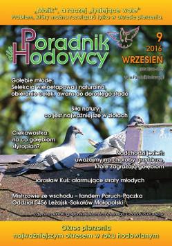 Okładka Poradnika Hodowcy numer wrzesień 2016