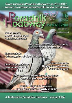 Okładka Poradnika Hodowcy numer październik 2016