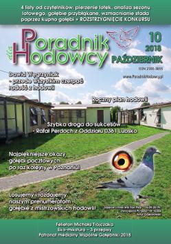 Okładka Poradnika Hodowcy numer październik 2018