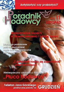 Okładka Poradnika Hodowcy numer 17 listopad 2013