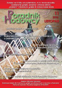 Okładka Poradnika Hodowcy numer listopad 2018