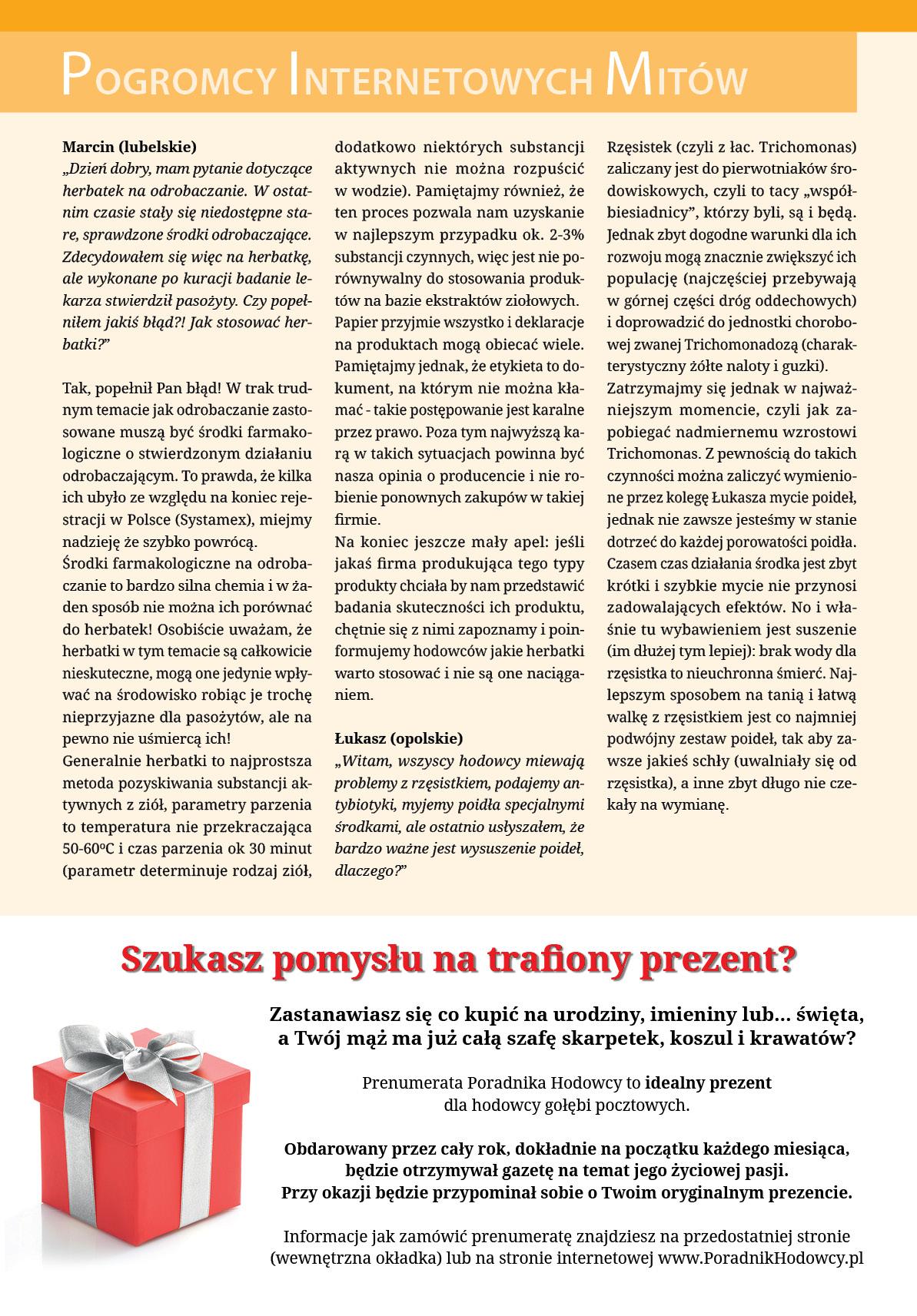 Darmowy numer specjalny Poradnika Hodowcy 2014 - strona 20