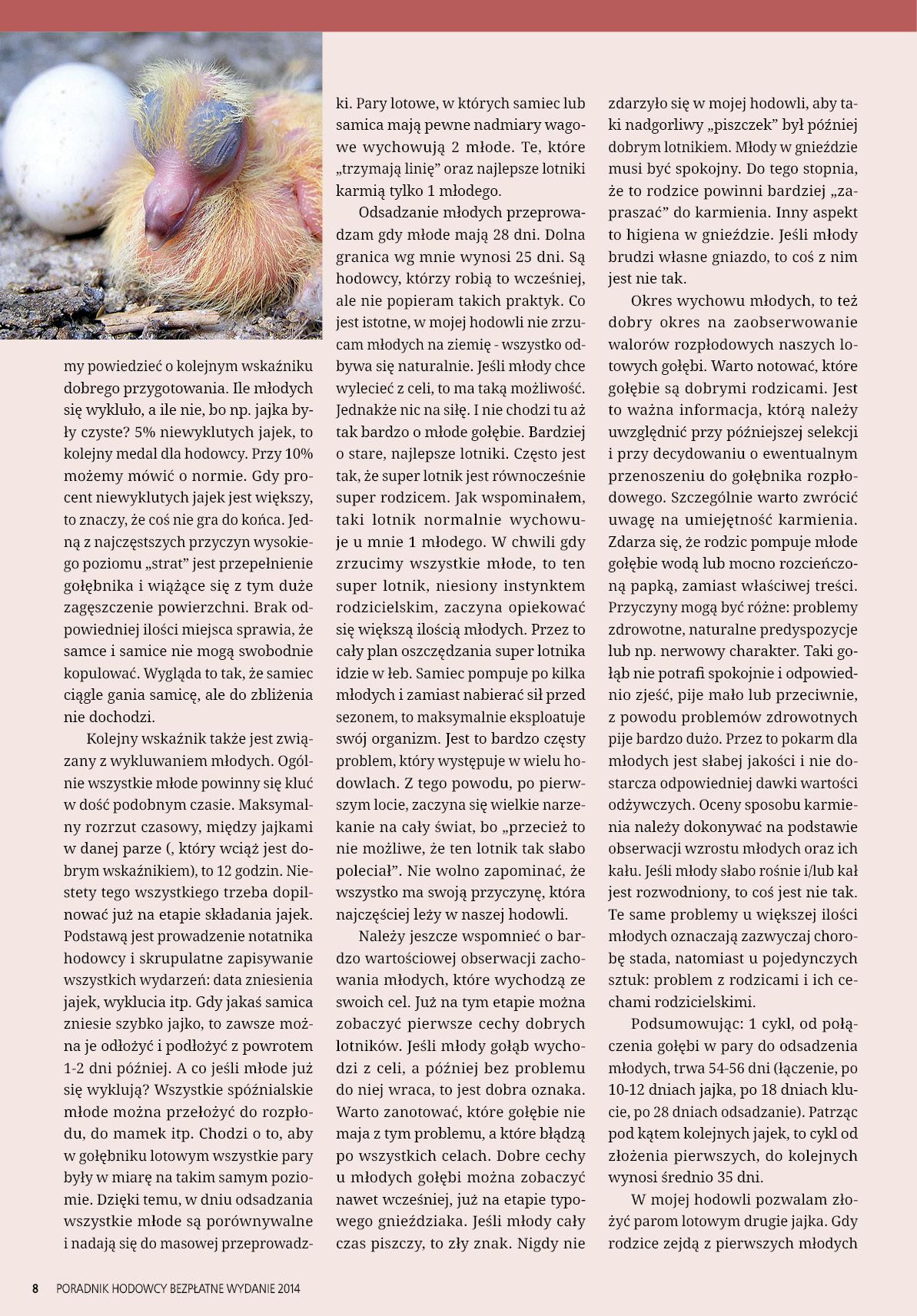 Darmowy numer specjalny Poradnika Hodowcy 2014 - strona 8
